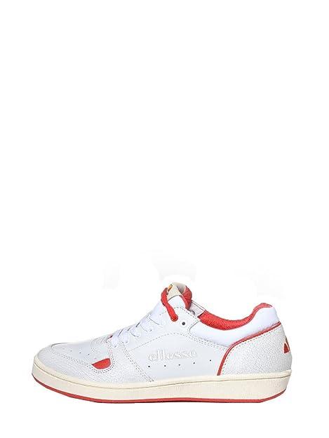Ellesse - Zapatillas de Piel para hombre Blanco Bianco: Amazon.es: Zapatos y complementos