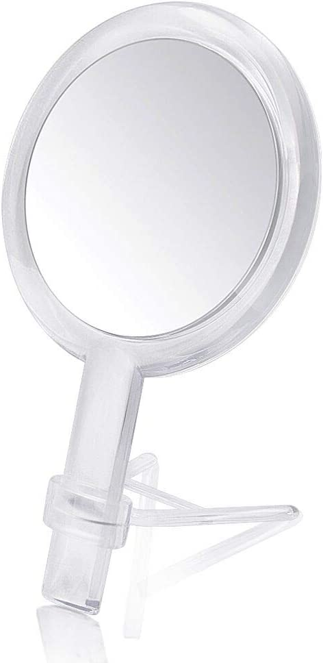DFSDG Miroir Pliant Portable Grand Place Maquillage beaut/é Miroir HD-Face Simple et Facile /à Utiliser loutil