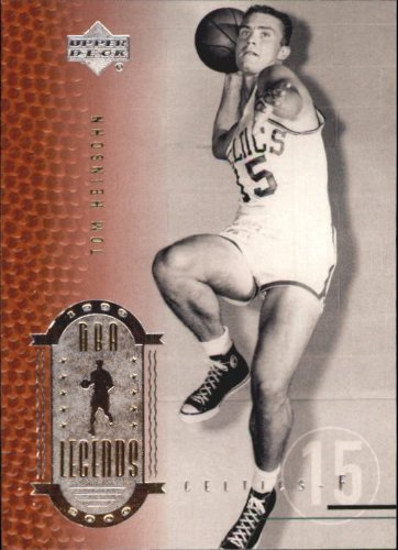 2000 Upper Deck Century Legends Basketball Card (2000-01) #20 Tom Heinsohn