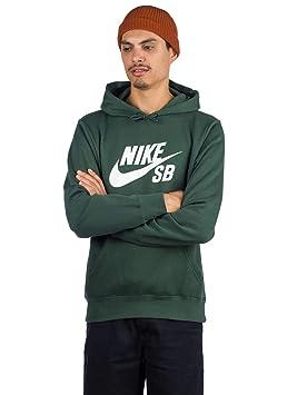 Nike M NK SB Icon Hoodie PO ESSNL - Sudadera, Hombre, (Midnight Green/White): Amazon.es: Deportes y aire libre