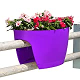 Greenbo Designer Rail and Deck Window Box Planter – Extra Large – Set of 2 Review