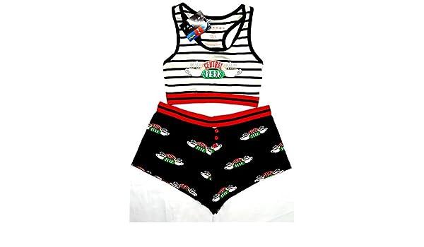 Friends - Pijama - para mujer multicolor multicolor M: Amazon.es: Ropa y accesorios