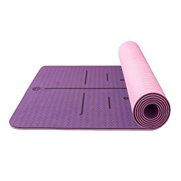 Amazon.com: Alfombrillas antideslizantes de yoga para casa ...