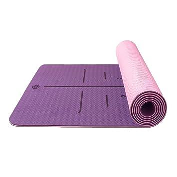 Amazon.com: Alfombrillas antideslizantes de yoga para casa ...