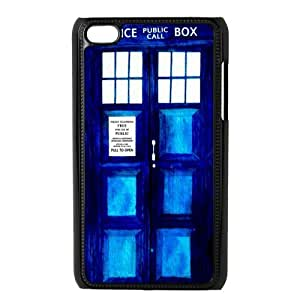SpecialCasedesign Personalized Police Box Tardis Doctor Who Ipod Touch 4 Case Best Durable Back Cover