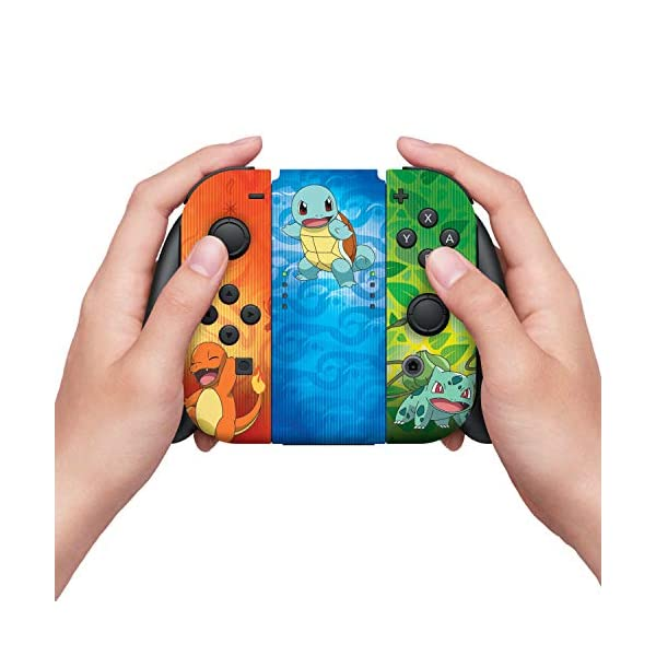 Controller Gear Nintendo Switch Skin & Screen Protector Set - Pokemon - Kanto Evolutions Set 1 - Nintendo Switch 5