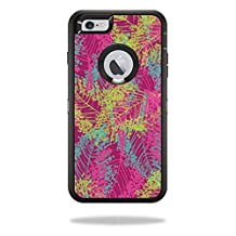 MightySkins Protective Vinyl Skin Decal for OtterBox Defender iPhone 5C Case wrap cover sticker skins Magenta Summer