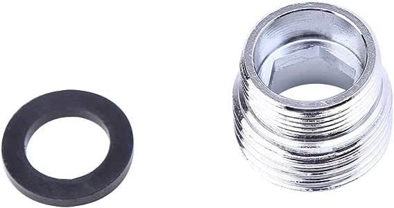 Adaptador de metal s/ólido para grifo de cocina con rosca exterior para ahorro de agua JENOR