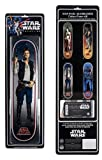 Santa Cruz Star Wars Han Solo Collectible Skateboard Deck, Assorted, 31.7''L x 8.26''W
