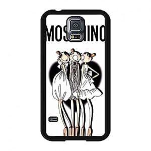 Moschino Logo Phone Funda Fits Samsung Galaxy S5 Hard Plastic Funda