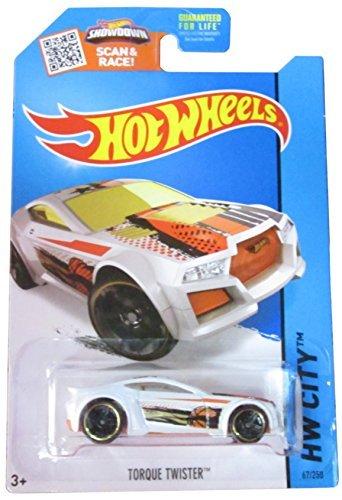 Torque Twister - Hot Wheels HW City 67/250 White Torque Twister