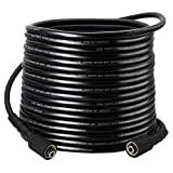 Twinkle Star 1/4-Inch 50 FT Pressure Washer Hose 3000 PSI for Sun Joe SPX Series, Karcher, B&S, Craftsman, Generac, Champion&Simpson and Others
