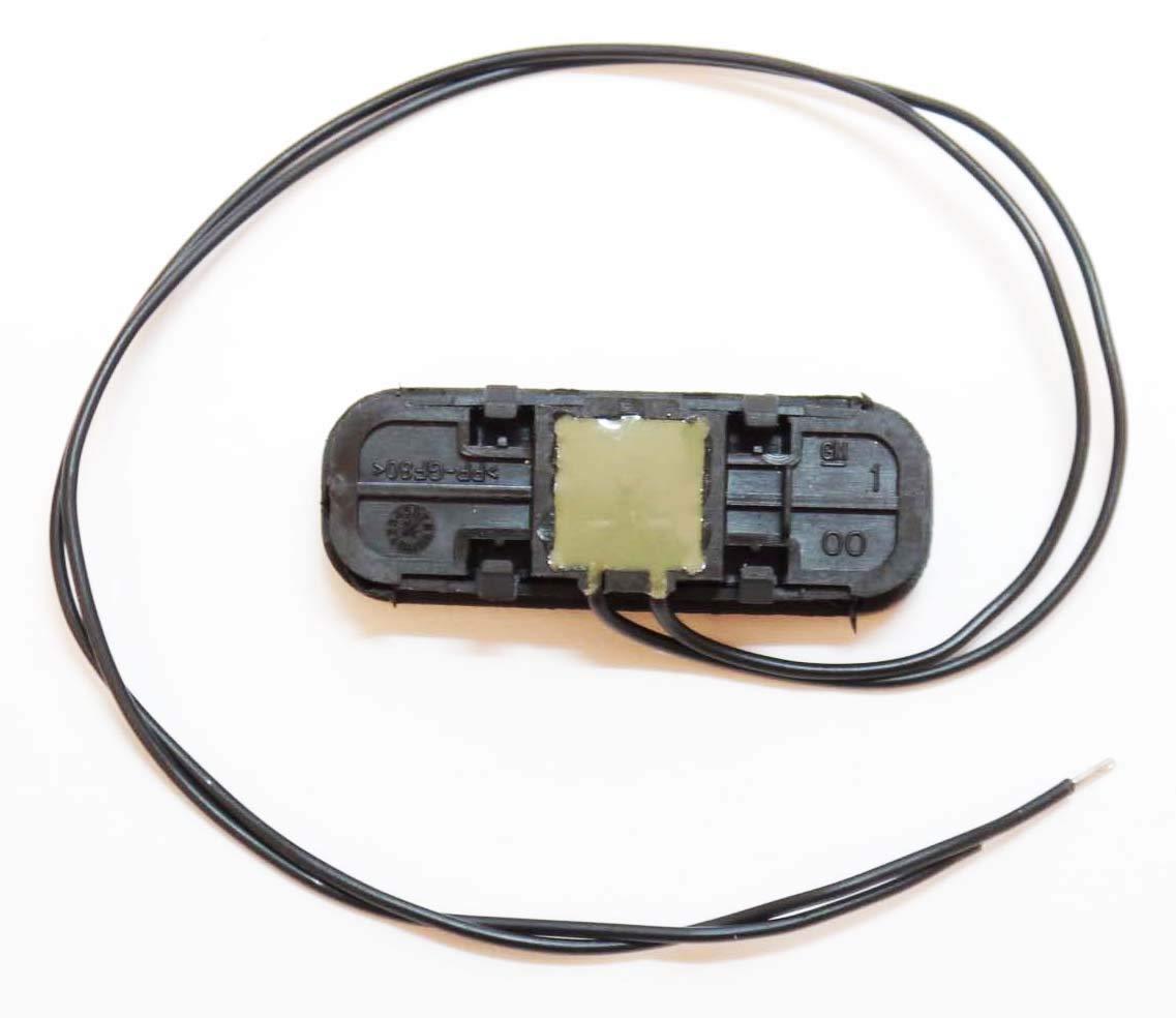 13393912 Insignia Kit de r/éparation pour bouton de hayon de coffre en caoutchouc Autodily