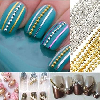Nicedeal - 500 pinceles de uñas postizas de gel UV transparente acrílico francés para maquillaje