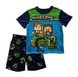 AME Minecraft Steve Creeper Pajama Sleep Wear Set for Boys