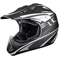 Yescom DOT Outdoor Adult Full Face MX Helmet Motocross...
