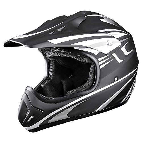 Yescom DOT Outdoor Adult Full Face MX Helmet Motocross Off-Road Dirt Bike Motorcycle ATV L Atv Motocross Motorcycle Helmet