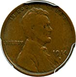 #4: 1914 D Lincoln Cents Cent F15 PCGS BN