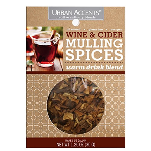 Urban Accents Wine and Cider Mulling Spice , 1.25 Ounce