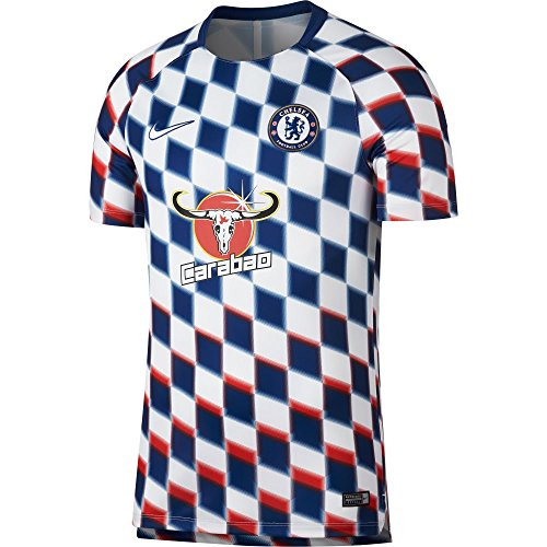 NIKE Chelsea Dry Fit Sqaud Top 2018/2019 - White - L