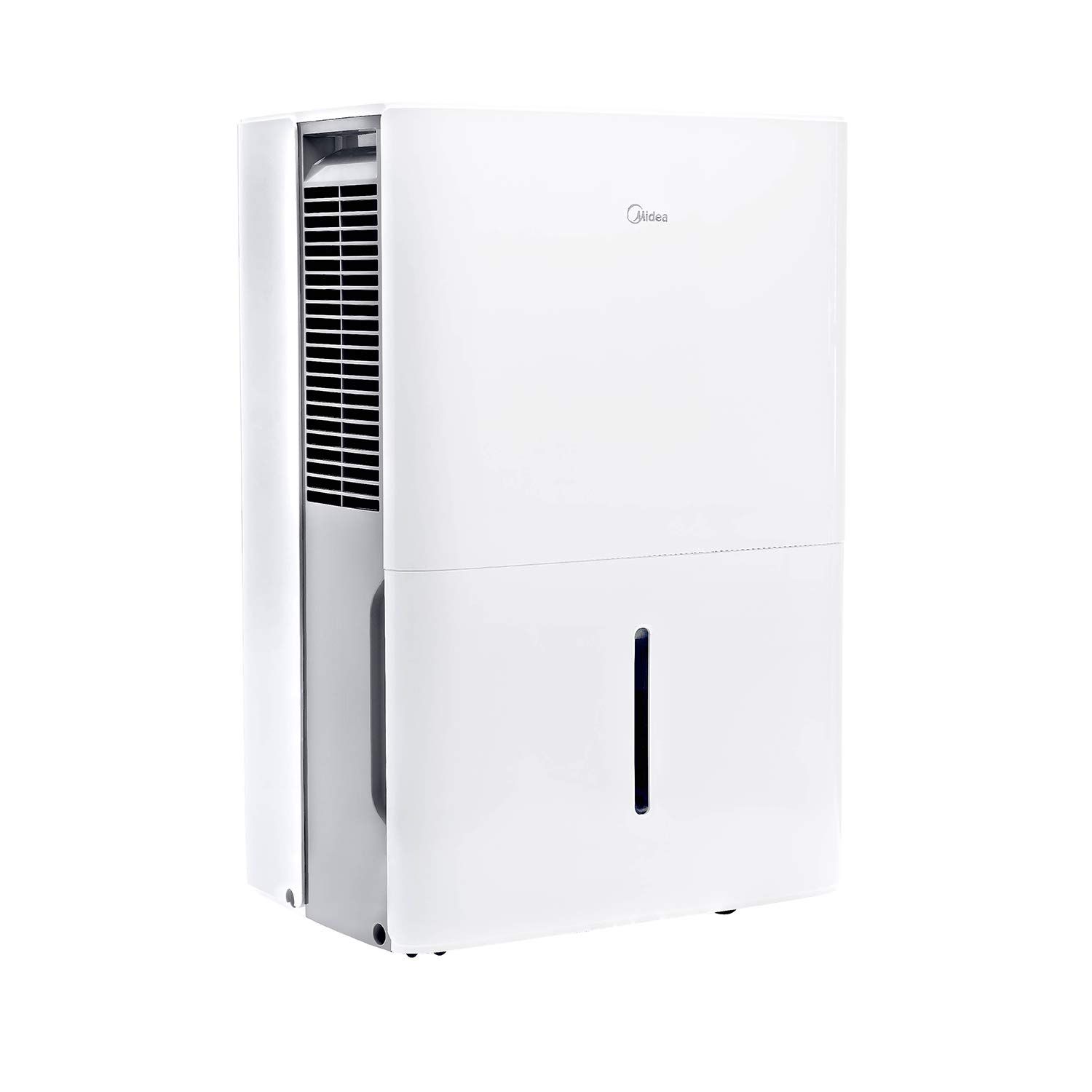 Midea MAD30C1YWS Dehumidifier 30 Pint with Reusable Filter, Ideal for basements, bedroom, bathroom, with bucket of 0.8 gallon
