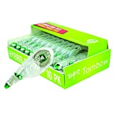 Tombow 68721 MONO Hybrid Correction Tape, 10-Pack. Easy To Use Applicator for Instant Corrections