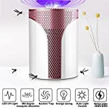 USB Electronic Mosquito Killer Lamp Fly Repellent Bug Zapper Insect Trap Waterproof Rechargeable Mosquito Zapper UV Light for Indoor Outdoor Use