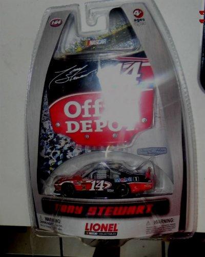 Stewart Race Car - NASCAR OFFICE DEPOT 1/64 SCALE TONY STEWART 14 DIE CAST RACE CAR BY LIONEL