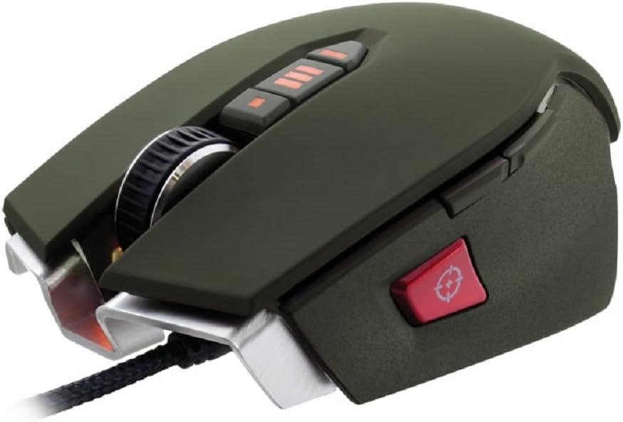CH-9000070-NA Black Corsair Gaming M65 RGB FPS PC Gaming Laser Mouse