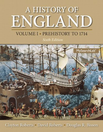 MySearchLab with Pearson eText -- Standalone Access Card -- for History of England, Volume 1, A (Prehistory to 1714) (6t