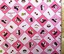 キャラクター生地・リサとガスパール(ピンク)#20の商品画像