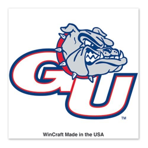 NCAA Gonzaga Bulldogs 4-Pack Waterless Temporary Tattoos (Tattoos Waterless)
