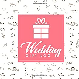 wedding gift log wedding gift card registry gift log wedding gift