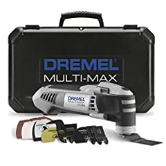 The Dremel Multi-Max mm40 oscillating tool is equipped with a powerful 3.8 amp motor, also coupled with 3.2 degrees of oscillation, which makes it the highest amp rated tool at the 129 price point. In addition to the amps, the new kit offers ...