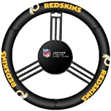 NFL Washington Redskins Leather Steering Wheel