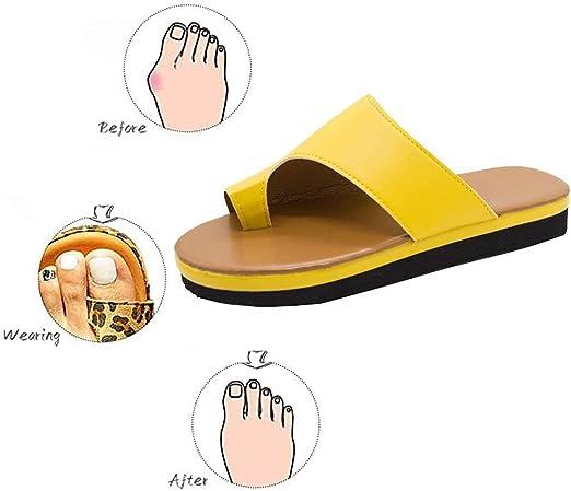 Loose Sole Sandals Toe Orthopedic