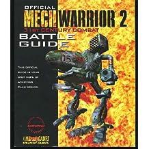 Official Mechwarrior 2: 31st Century Combat Battle Guide