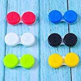 Elcoho 24 Pack Contact Lens Cases Contact Lens