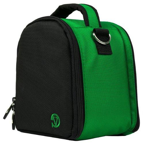 Laurel Travel Camera Bag Case for Canon EOS 20D, 300D, 30D, 350D (Rebel Kiss) DSLR Camera + Screen Protector + Screen Protector + Mini Tripod