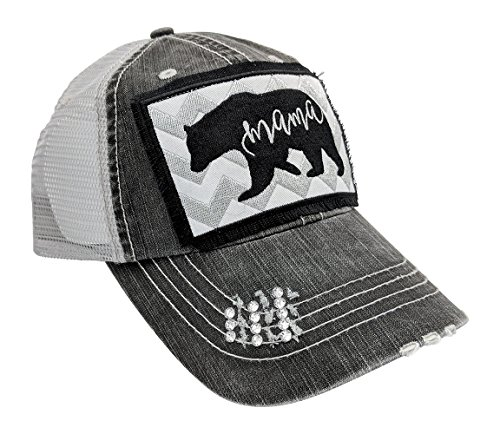 01aca99a6d6 Jual Loaded Lids Women s Mama Bear Embroidered Patch Baseball Cap ...