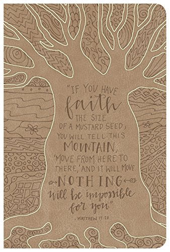 NKJV Large Print Personal Size Reference Bible, Natural Faith (Designer (Designer Natural)