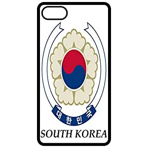South Korea - Coat Of Arms Flag Emblem Black Apple Iphone 6 (4.7 Inch) Cell Phone Case - Cover
