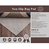 LHFLIVE 2' x 3' Non-Slip Area Rug Pad Extra Thick