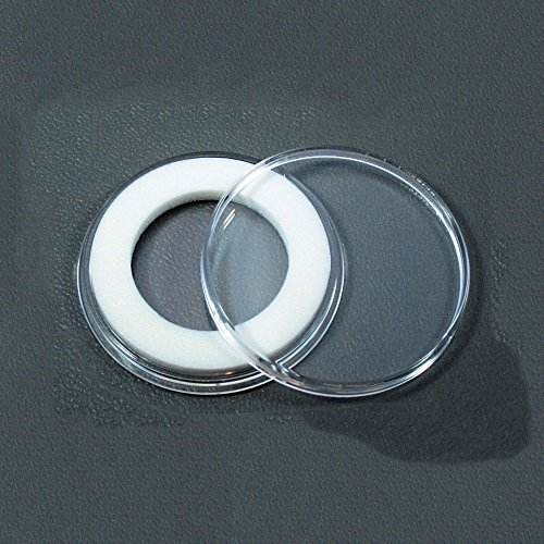 (10) Air-tite 23mm White Ring Coin Holder Capsules for 1/4oz Gold Libertads