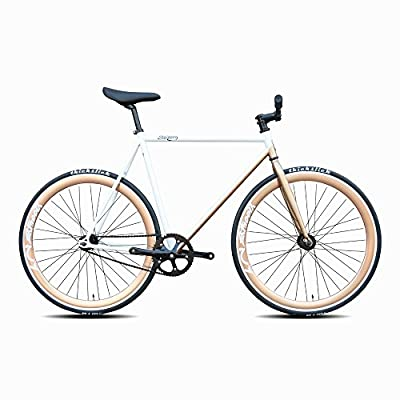 Daiquiri 700c Fixie Bike Urban Track Single Speed Road Bike Fixed Gear Commuter Bicycle D17 V