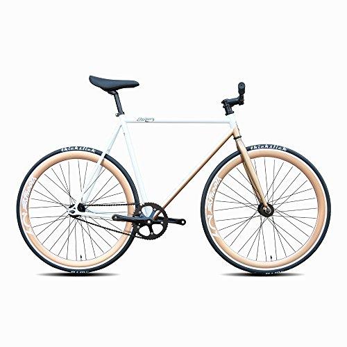 Daiquiri 700c Fixie Bike Urban Track Single Speed Road Bike Fixed Gear Commuter Bicycle D17 V