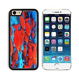 Underwater School Fish Sea Ocean Marinelife Apple iPhone 6 TPU Snap Cover Premium Aluminium Design Back Plate Case Customized Made to Order Support Ready Liil iPhone_6 Professional Case Touch Accessories Graphic Covers Designed Model Sleeve HD Template Wa wangjiang maoyi