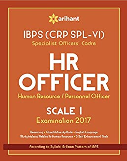 ibps crp spl vi specialist officers cadre hr officer scale i study rh amazon in Personnel Specialist Exam navy personnel specialist study guide