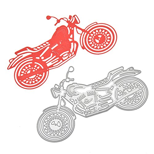 Rose Love Couple Cutting Die Easter Egg Metal Stencil Motorcycle Template Tool