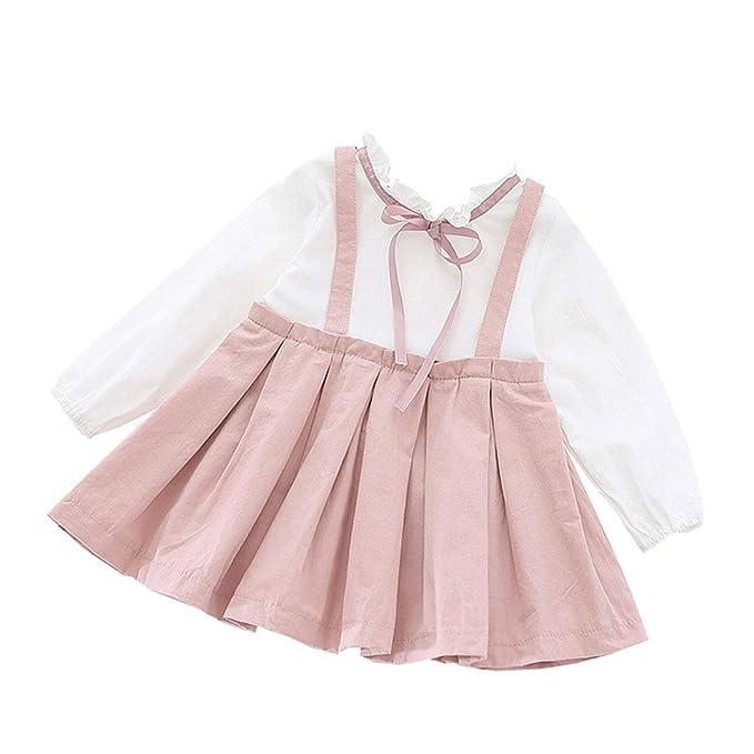 Amazon.com: AIKSSOO - Falda plisada para bebés y niñas: Clothing